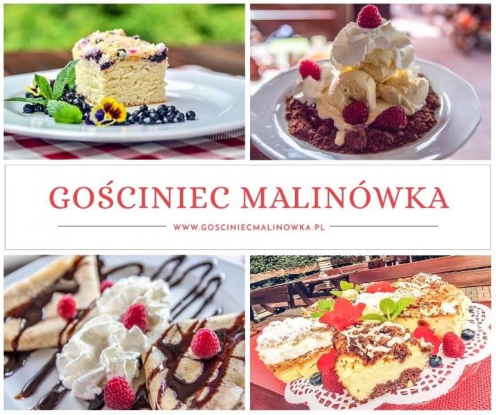 Rozsmakuj się w nowościach w menu Malinówki – Kartuzy.info – kartuzy.info
