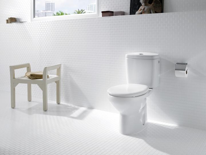 Funkcjonalna łazienka dzięki desce z bidetem